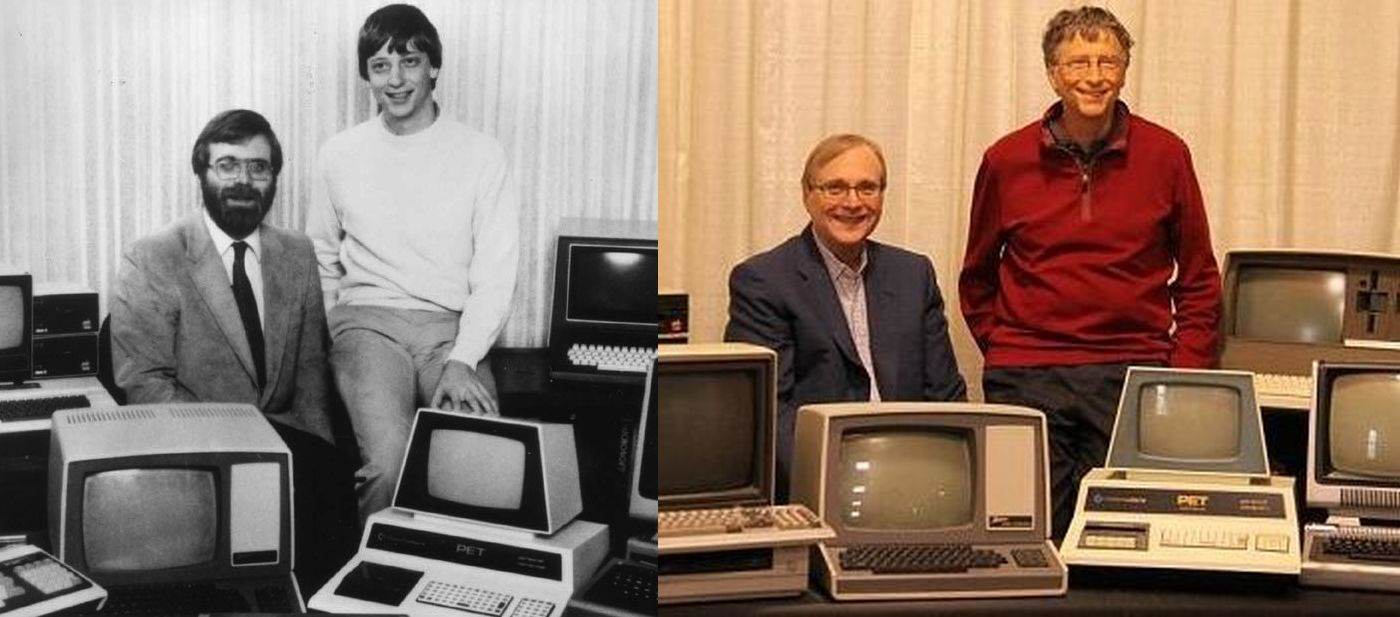 Paul Allen Bill Gates